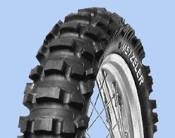 Tyre METZELER MC5 120/100R18
