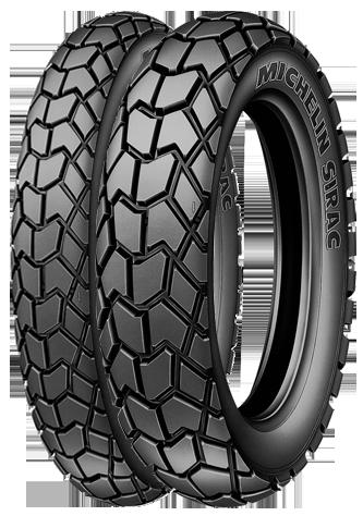 Tyre MICHELIN SIRAC 110/90R17 P