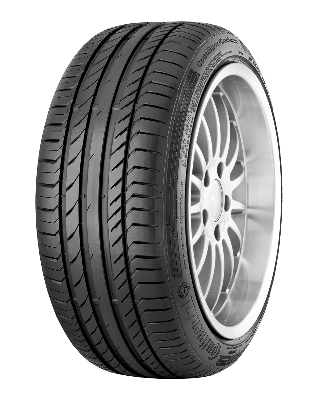 Summer Tyre Continental Sport Contact 5P XL 255/40R21 102 Y