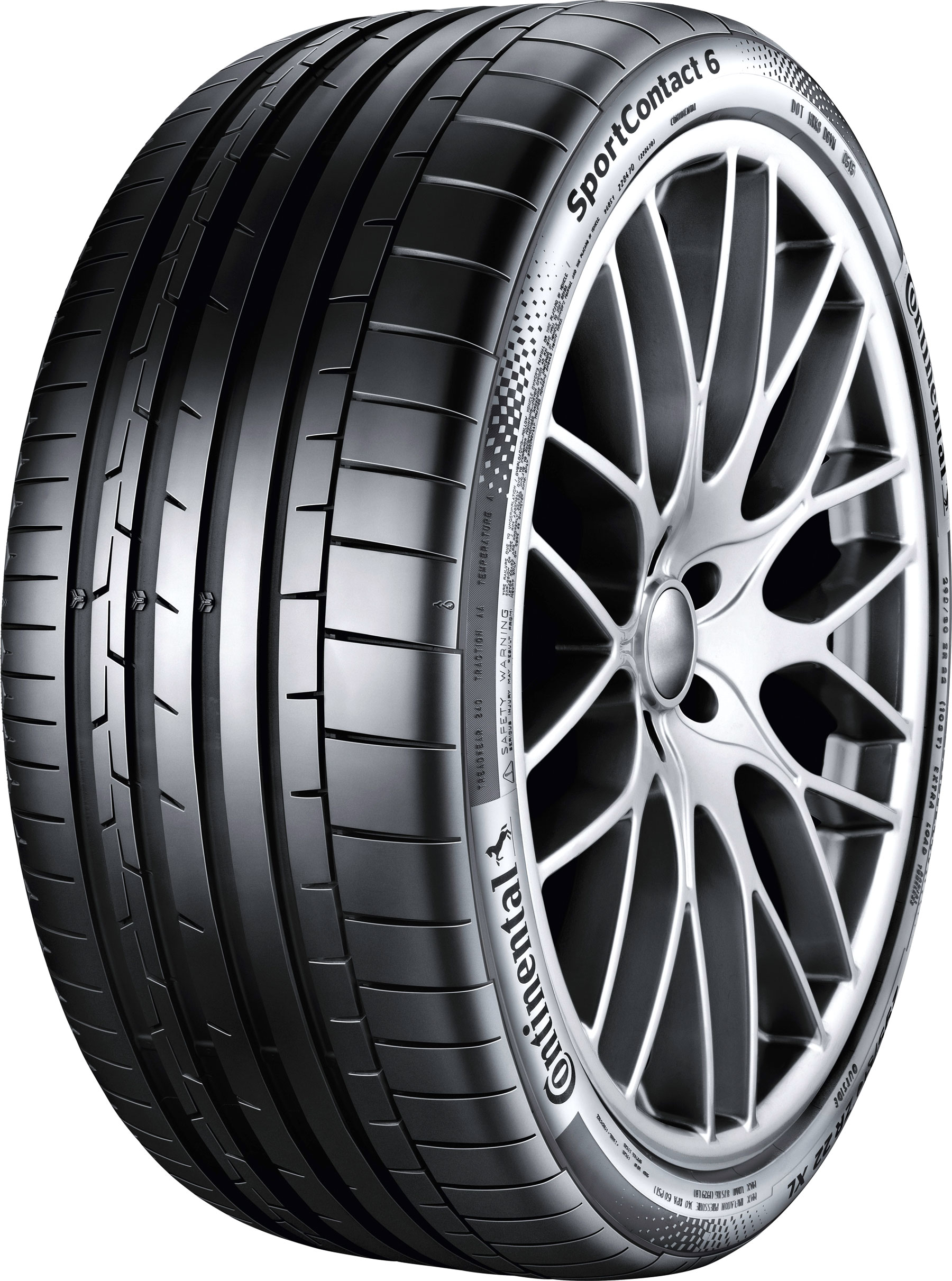 Summer Tyre Continental Sport Contact 6 XL 255/30R20 92 Y