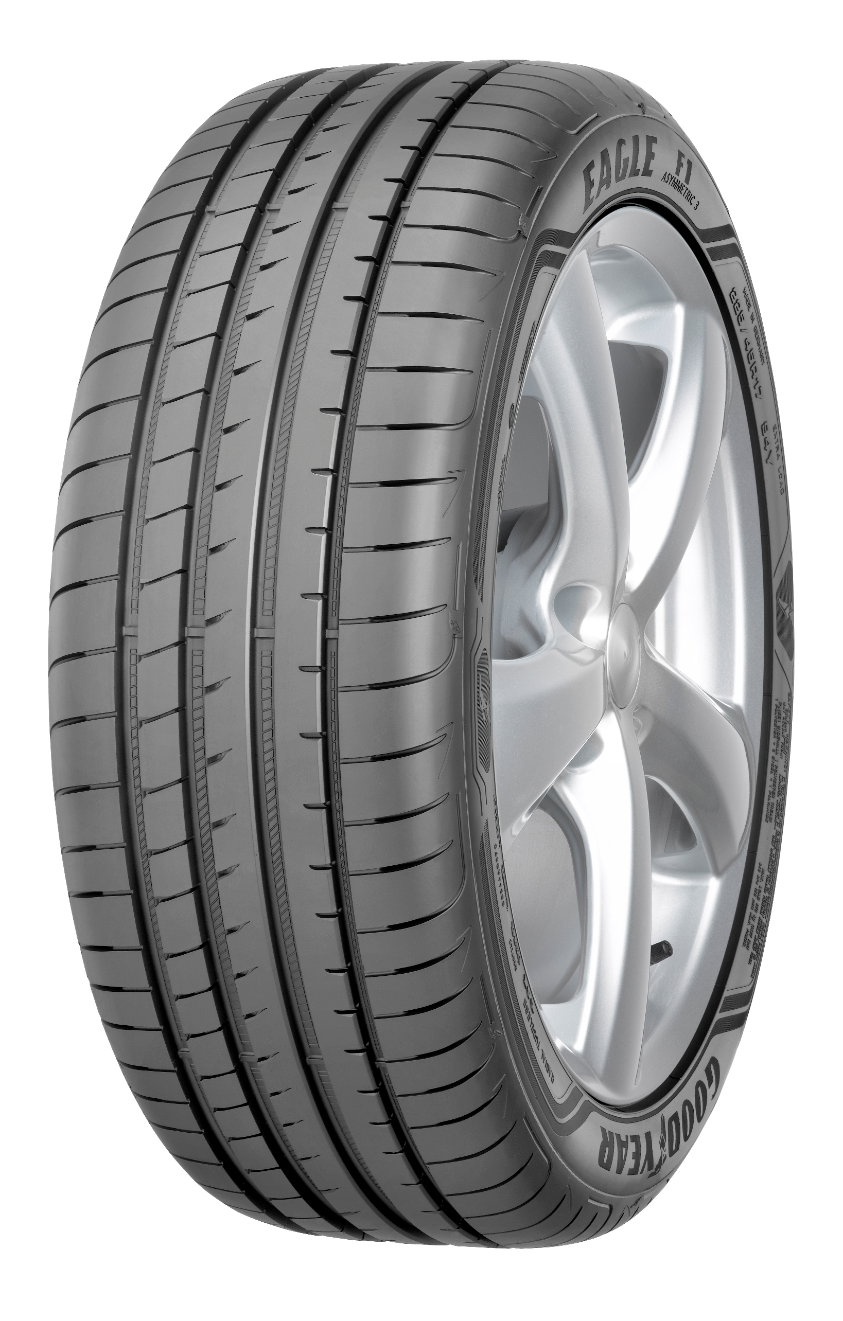 Summer Tyre Goodyear Eagle F1 Asymmetric 3 XL 215/45R17 91 W