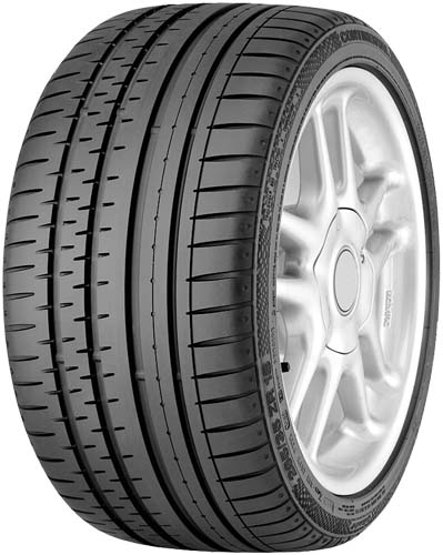 Summer Tyre CONTINENTAL SPORT CONTACT 2 CONTINENTAL Y 245/45R18 100 W