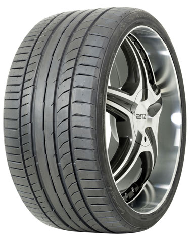 Summer Tyre CONTINENTAL 235/45R19 V