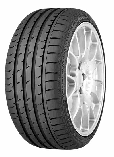 Summer Tyre CONTINENTAL CONTINENTAL SPORT CONTACT 3 235/35R19 87 Y