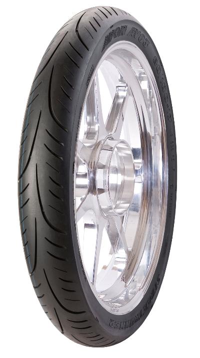 Tyre MICHELIN STREET 100/80R17 S