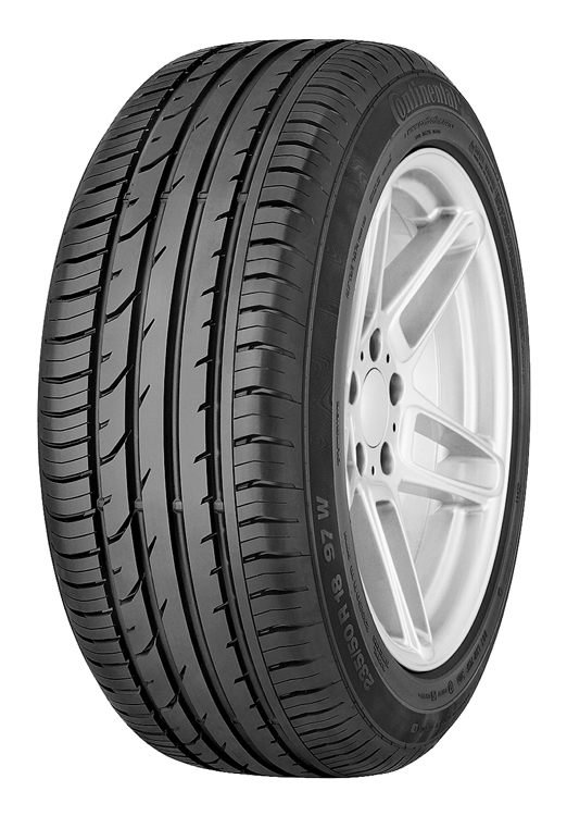 Summer Tyre CONTINENTAL PREMIUM CONTACT 2 205/55R17 91 V